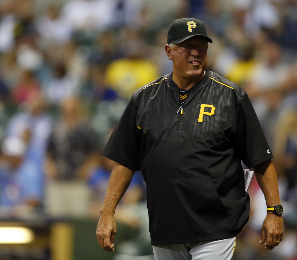 Milwaukee Brewers V Pittsburgh Pirates: Clint Hurdle In Pittsburgh Pirates V Milwaukee Brewers