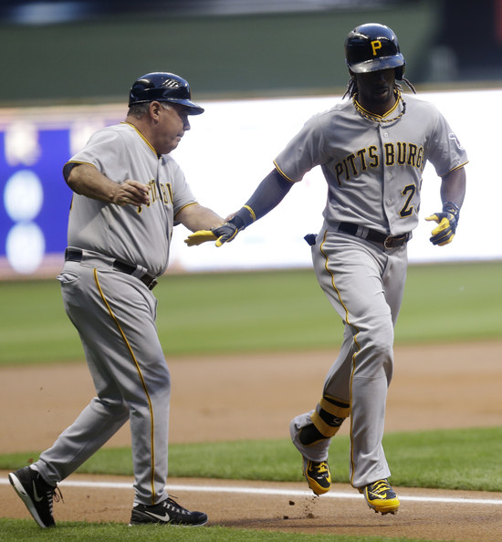 Milwaukee Brewers V Pittsburgh Pirates: Andrew McCutchen In Pittsburgh Pirates V Milwaukee Brewers