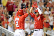 Adam LaRoche and Denard Span Photos Photo