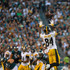 Antonio Brown Photos - Antonio Brown #84 of the Pittsburgh Steelers makes a reception against the Philadelphia Eagles in the third quarter at Lincoln Financial Field on September 25, 2016 in Philadelphia, Pennsylvania. - Pittsburgh Steelers v Philadelphia Eagles