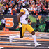 Antonio Brown Photos - Antonio Brown #84 of the Pittsburgh Steelers scores the game winning touchdown during the fourth quarter of the game against the Cincinnati Bengals at Paul Brown Stadium on October 14, 2018 in Cincinnati, Ohio. Pittsburgh defeated Cincinnati 28-21. - Pittsburgh Steelers vs. Cincinnati Bengals