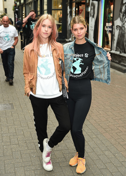 Ocean Conservation Group 'Project 0' Ambassadors Unveil 'One Ocean One Planet' On Carnaby Street