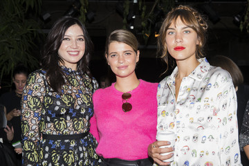 Pixie Geldof Front Row at London Fashion Week