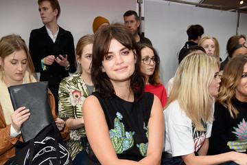 Pixie Geldof Front Row & Arrivals - Day 2 - LFW September 2016
