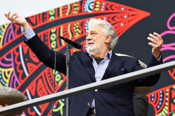 Placido Domingo F1 Grand Prix of Mexico