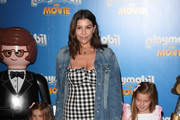 """Imogen Thomas attends """"Playmobil The Movie"""" UK Premiere at Vue West End on August 04, 2019 in London, England."""