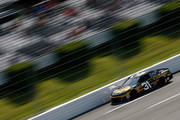 Ryan Newman, driver of the #31 Bass Pro Shops/Cabela's Chevrolet, drives during qualifying for the Monster Energy NASCAR Cup Series Gander Outdoors 400 at Pocono Raceway on July 28, 2018 in Long Pond, Pennsylvania.