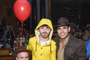 Nathan Sykes and Eric Podwall attend Podwall Entertainment's 9th Annual Halloween Party Presented By Makers Mark at The Peppermint Club on October 31, 2018 in Los Angeles, California.