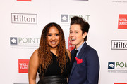 (L-R) Tracie Thoms and Rhea Butcher attend Point Honors Los Angeles 2019, Benefitting Point Foundation at The Beverly Hilton Hotel on October 12, 2019 in Beverly Hills, California.