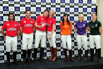 Jamie Morrison Polo In The Park - Launch Photocall
