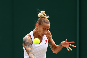 Polona Hercog Day Six: The Championships - Wimbledon 2017