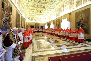 Pope Benedict XVI Pope's Sudden Resignation Shocks Catholics