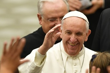 Pope Francis I Pope Attends His Weekly Audience