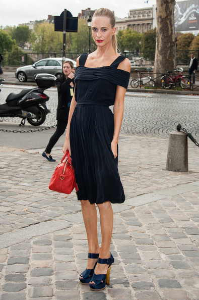 Poppy Delevingne - Louis Vuitton: Arrivals - Paris Fashion Week Womenswear Spring / Summer 2013