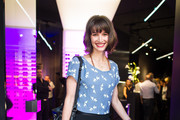 Wanda Badwal attends the Porsche Design Launches Capture Collection by Chester Bennington at Design Haus on June 6, 2014 in Berlin, Germany.