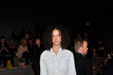 Porschla Coleman Milly By Michelle Smith - Front Row - Fall 2013 Mercedes-Benz Fashion Week