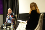 Dr. Jane Goodall and Lucy Yeomans PORTER Editor-in-Chief during PORTERÕs Incredible Women Talk followed by a screening of the BAFTA nominated Jane, in association with National Geographic Documentary Films on January 30, 2018 in London, England.