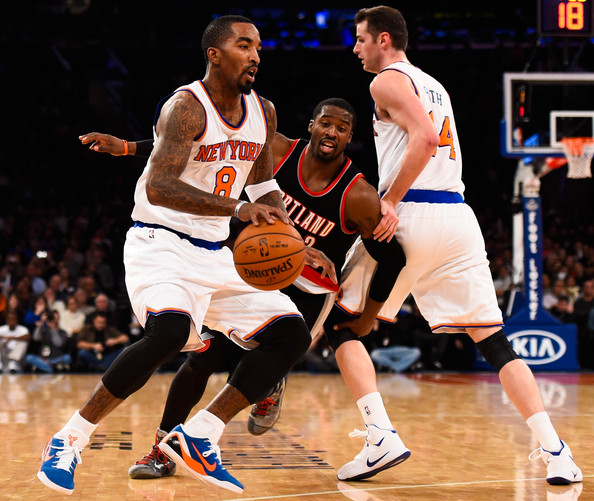 Portland Blazers 27: Portland Trail Blazers V New York Knicks 27 Of 28