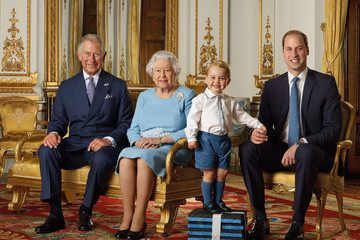 Prince George Looks Adorable as He Poses for His First Stamp