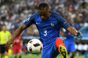 Patrice Evra of France in action during the UEFA EURO 2016 Final match between Portugal and France at Stade de France on July 10, 2016 in Paris, France.