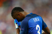 Patrice Evra of France reacts during the UEFA EURO 2016 Final match between Portugal and France at Stade de France on July 10, 2016 in Paris, France.