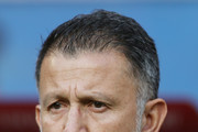 Juan Carlos Osorio, head coach of Mexico looks on prior to the FIFA Confederations Cup Russia 2017 Group A match between Portugal and Mexico at Kazan Arena on June 18, 2017 in Kazan, Russia.