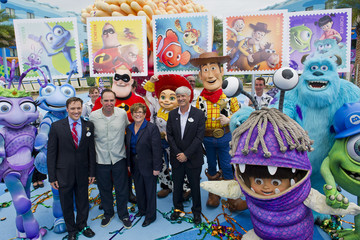 Jay Ward Postal Service Unveils New Stamp Series At Disney's Art of Animation Resort In Florida