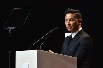 Prabal Gurung Celebrities Attend the 2015 Fragrance Foundation Awards