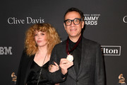 Natasha Lyonne and Fred Armisen attend the Pre-GRAMMY Gala and GRAMMY Salute to Industry Icons Honoring Clarence Avant at The Beverly Hilton Hotel on February 9, 2019 in Beverly Hills, California.