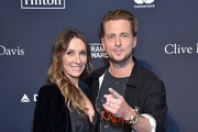"(L-R) Genevieve Tedder and  Ryan Tedder attends the Pre-GRAMMY Gala and GRAMMY Salute to Industry Icons Honoring Sean ""Diddy"" Combs on January 25, 2020 in Beverly Hills, California."