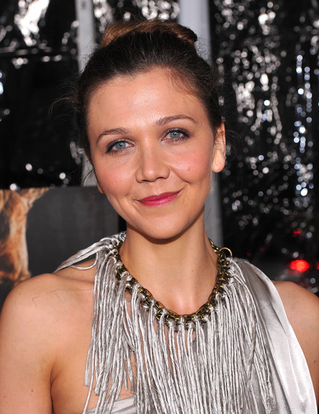 Maggie Gyllenhaal Actress Maggie Gyllenhaal arrives at the premiere of Fox ...
