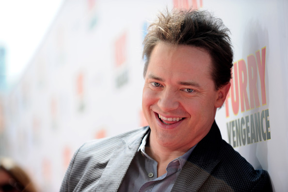 brendan fraser fat. Actor Brendan Fraser arrives
