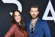 """Chelsea Tyler and Jon Foster attend the premiere of 20th Century Fox's """"Ad Astra"""" at The Cinerama Dome on September 18, 2019 in Los Angeles, California."""