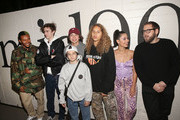 "(L-R) Na-kel Smith, Ryder McLaughlin, Gio Galicia, Sunny Suljic, Olan Prenatt, Alexa Demie and Jonah Hill attend the premiere of A24's ""Mid90s"" at West LA Courthouse on October 18, 2018 in Los Angeles, California."