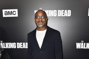 """Seth Gilliam attends the Premiere of AMC's """"The Walking Dead"""" Season 9  at DGA Theater on September 27, 2018 in Los Angeles, California."""