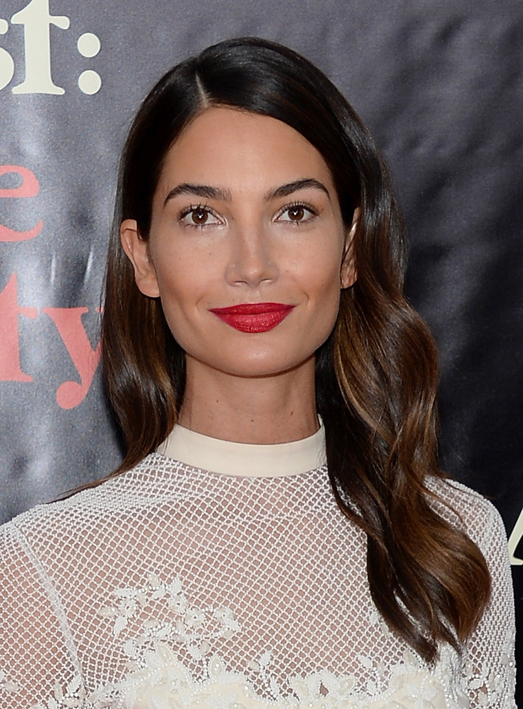 Model Lily Aldridge attends the premiere of AUGUST:OSAGE COUNTY presented by The Weinstein Company with Ram Trucks on December 12, 2013 in New York City.