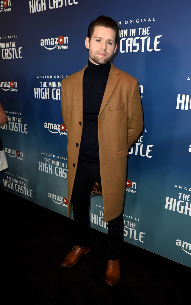 luke kleintank photos photos premiere of amazons man in the high castle season 2 red carpet zimbio