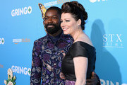 Actor David Oyelowo (L) and Jessica Oyelowo attend the world premiere of 'Gringo' from Amazon Studios and STX Films at Regal LA Live Stadium 14 on March 6, 2018 in Los Angeles, California.