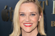 """Reese Witherspoon attends the Premiere of Apple TV+'s """"Truth Be Told"""" at AMPAS Samuel Goldwyn Theater on November 11, 2019 in Beverly Hills, California."""