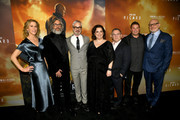 "(L-R) Heather Kadin, Michael Chabon, Alex Kurtzman, Kirsten Beyer, Trevor Roth, Rod Roddenberry and Akiva Goldsman arrive at the premiere of CBS All Access' ""Star Trek: Picard"" at ArcLight Cinerama Dome on January 13, 2020 in Hollywood, California."