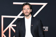 """Sam Claflin attends the premiere of Columbia Pictures' """"Charlie's Angels"""" at Westwood Regency Theater on November 11, 2019 in Los Angeles, California."""