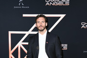 """Sam Claflin attends the premiere of Columbia Pictures' """"Charlies Angels"""" at Westwood Regency Theater on November 11, 2019 in Los Angeles, California."""