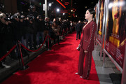 Actress Sophie Bush attends the premiere of Columbia Pictures' 'Miss Bala' at Regal LA Live Stadium 14 on January 30, 2019 in Los Angeles, California.