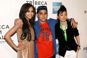 """Actors Samantha Jade Logan, Ralph Rodriguez and Celia Au attend the premiere of """"Detachment"""" during the 2011 Tribeca Film Festival at BMCC Tribeca PAC on April 25, 2011 in New York City."""