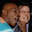 Charlie Sheen and Mike Tyson