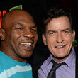 Mike Tyson Charlie Sheen Photos
