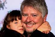 "Actor Dave Foley (L) and his daughter attend the ""Prep & Landing"" film premiere at The El Capitan Theatre on November 16, 2009 in Hollywood, California."