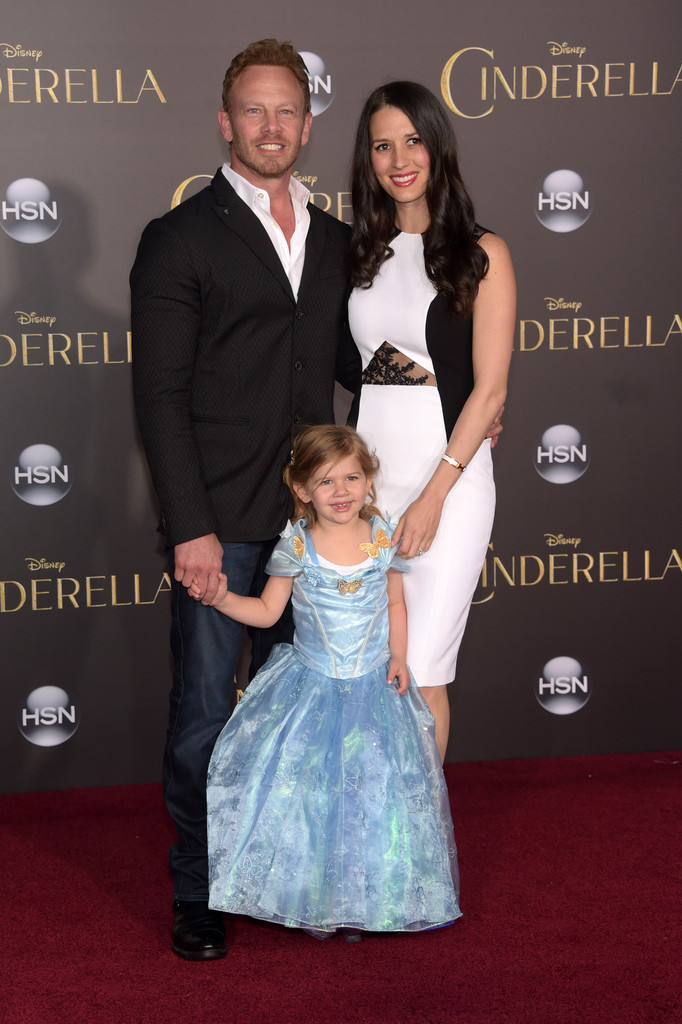 Ian Ziering and family