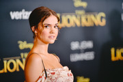"Image has been edited using digital filters) Maia Mitchell attends the premiere of Disney's ""The Lion King"" at Dolby Theatre on July 09, 2019 in Hollywood, California."