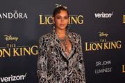"""Beyoncé attends the premiere of Disney's """"The Lion King"""" at Dolby Theatre on July 09, 2019 in Hollywood, California."""